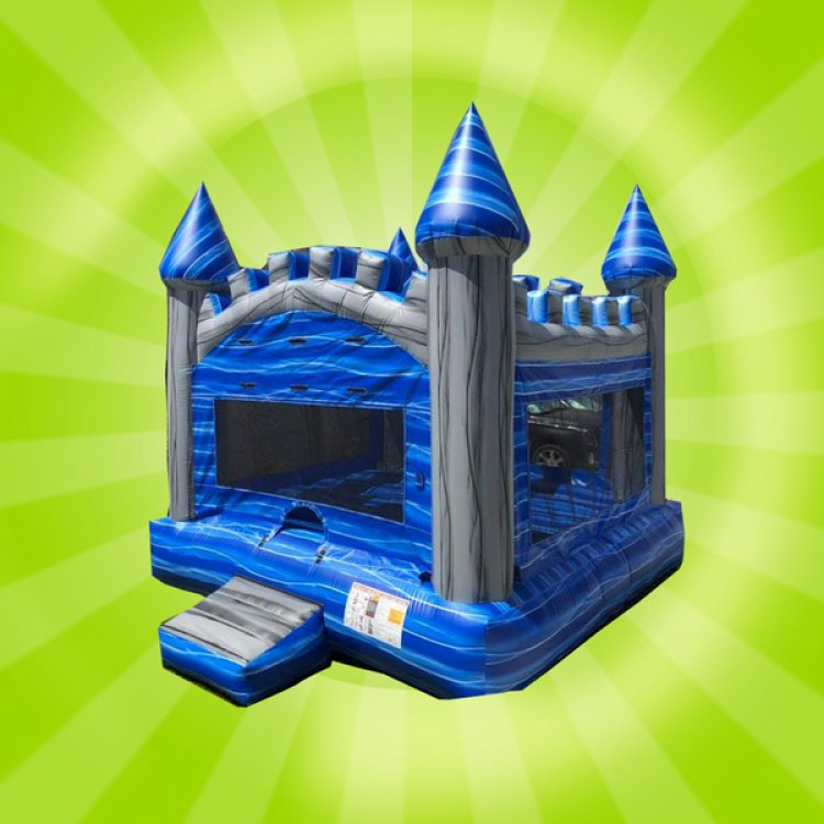 Blue Castle Moon Bounce