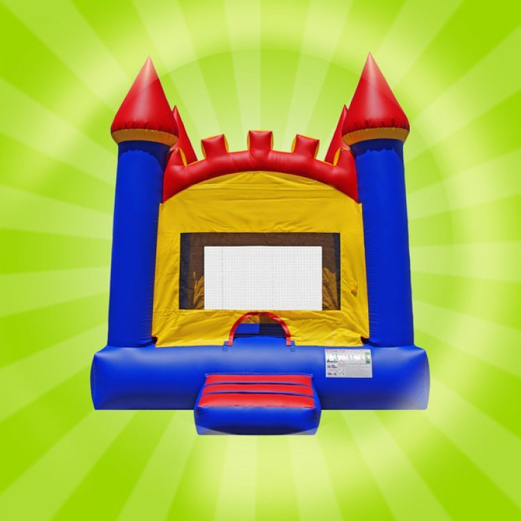 Arched Castle Moon Bounce
