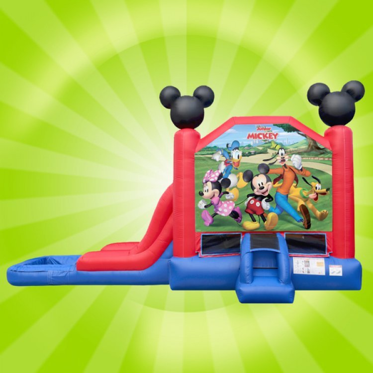 Mickey and Friends Bounce Slide (Wet)