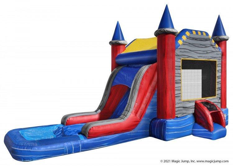 EZ Enchanted Castle Wet or Dry nowm 0202 1616447168 big Castle Slide (Dry)