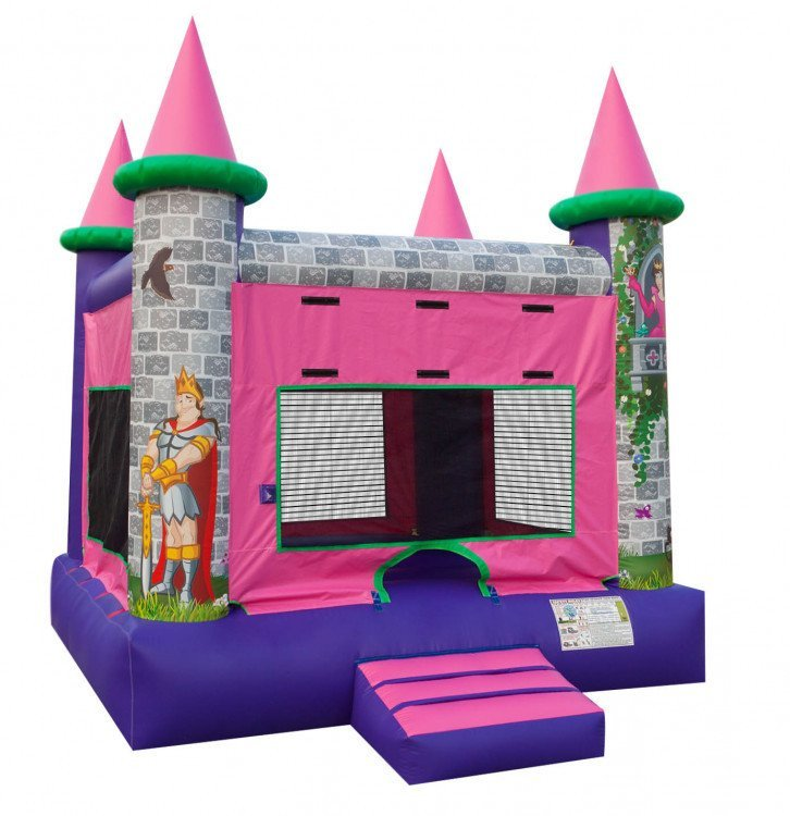 Princess Castle Moon Bounce