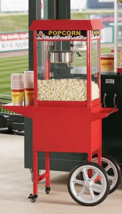 Popcorn Machine with Cart $125.00 (12 oz)